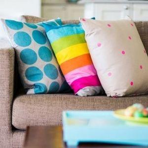 IKEA Multi-Colour Stripe Pillow Cushion Cover